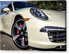 50th Anniversary Porsche 911 Acrylic Print