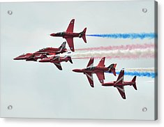 50th Anniversary 'red Arrows' Acrylic Print