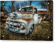 51 Ford F1 Pick-up Acrylic Print by YoPedro