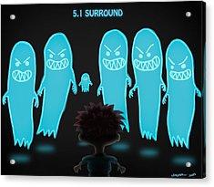 5.1 Surround Acrylic Print