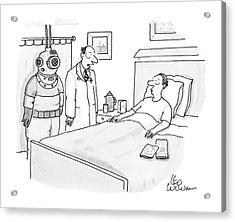 New Yorker January 14th, 2008 Acrylic Print