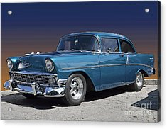 Acrylic Print featuring the photograph 56 Chevy by Robert Meanor