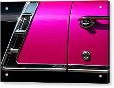 56 Chevy Two Tone Acrylic Print by Steve Raley
