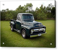 Acrylic Print featuring the photograph 56 F100 by Keith Hawley