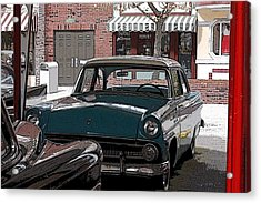 56 Ford Art01 Acrylic Print