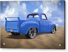 56 Studebaker Truck Acrylic Print