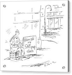 New Yorker May 23rd, 2005 Acrylic Print