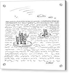 New Yorker July 21st, 2008 Acrylic Print