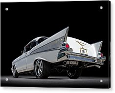 '57 Bel Air Acrylic Print by Douglas Pittman