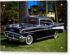 57 Chevy  Acrylic Print by Tim McCullough