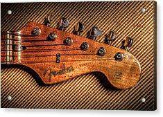 '57 Stratocaster Acrylic Print