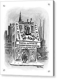 New Yorker November 21st, 2005 Acrylic Print