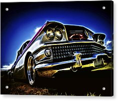 58 Buick Special Acrylic Print by motography aka Phil Clark