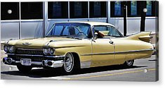 Acrylic Print featuring the photograph 59' Rides Again... by Al Fritz