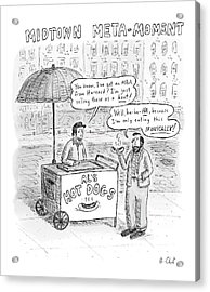 New Yorker May 28th, 2007 Acrylic Print by Roz Chast