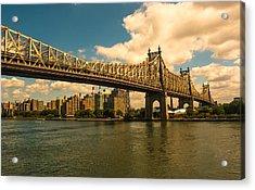 59th Street Bridge Ny Acrylic Print