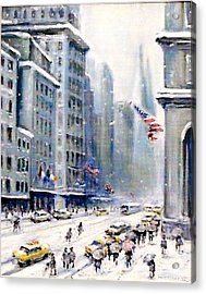 5th Ave Nyc Acrylic Print