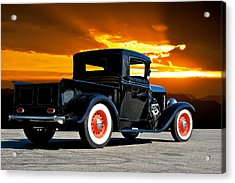 1932 Ford Pick Up Acrylic Print by Dave Koontz