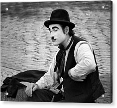 6 - Anything Else - French Mime Acrylic Print by Nikolyn McDonald