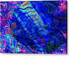 Beneath The Waves Series Acrylic Print