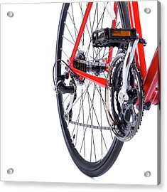 Bicycle Rear Gears Acrylic Print