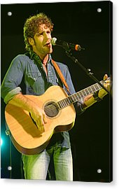 Billy Currington Acrylic Print by Don Olea