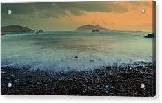 Blasket Islands Acrylic Print by Barbara Walsh
