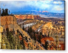 Bryce Canyon  Acrylic Print by Marti Green