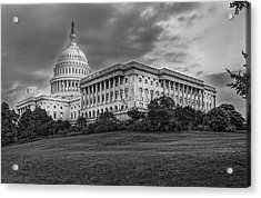 Acrylic Print featuring the photograph Capitol Building by Peter Lakomy