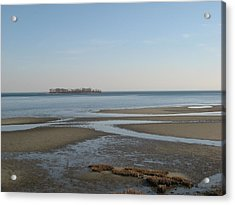 Charles Island Acrylic Print by John Scates