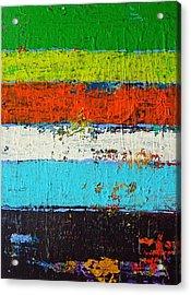 6 Colores Acrylic Print