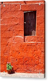 Colorful Old Architecture Details Acrylic Print by Yaromir Mlynski