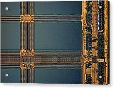 Computer Ram Module Acrylic Print