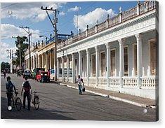 Cuba, Pinar Del Rio Province, Pinar Del Acrylic Print by Walter Bibikow