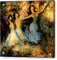 Dance Dance Dance Acrylic Print by Anand Swaroop Manchiraju