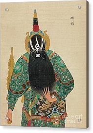 Decorative Asian Art Painting Acrylic Print