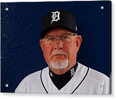 Detroit Tigers Photo Day Acrylic Print by Kevin C. Cox