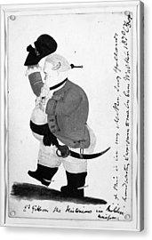 Edward Gibbon (1737-1794) Acrylic Print