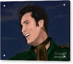 Elvis Presley    Loving You Acrylic Print