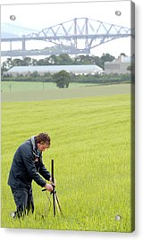 Environmental Radiation Monitoring Acrylic Print by Public Health England