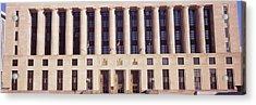 Facade Of A Government Building Acrylic Print