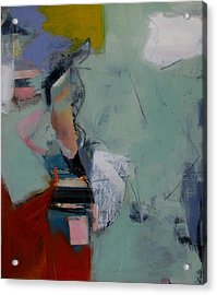 Figure Study Acrylic Print by Fred Smilde