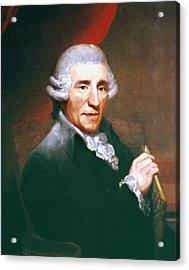 Franz Joseph Haydn (1732-1809) Acrylic Print