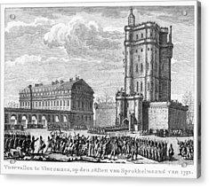 French Revolution, 1791 Acrylic Print by Granger