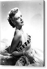 From Here To Eternity, Deborah Kerr Acrylic Print by Everett