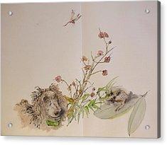 Garden Of Plenty Album Acrylic Print