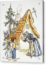 Grimm: Hansel And Gretel Acrylic Print by Granger