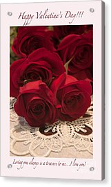 Happy Valentine's Day #3 Acrylic Print