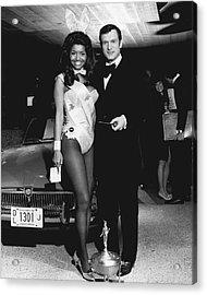 Hugh Hefner Acrylic Print by Retro Images Archive