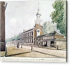 Independence Hall Acrylic Print by Granger
